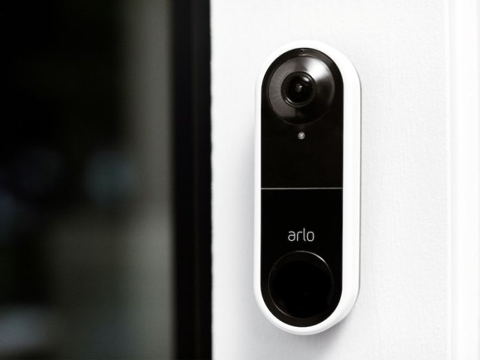 Arlo launches its first-ever video doorbell with live video and 2-way audio