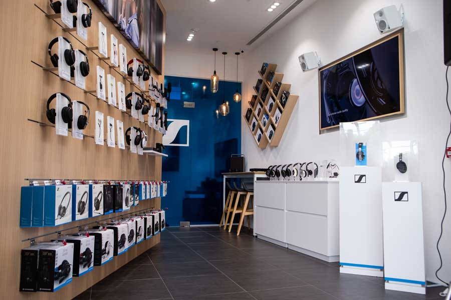 Sennheiser opens second store in Marina Bay Sands