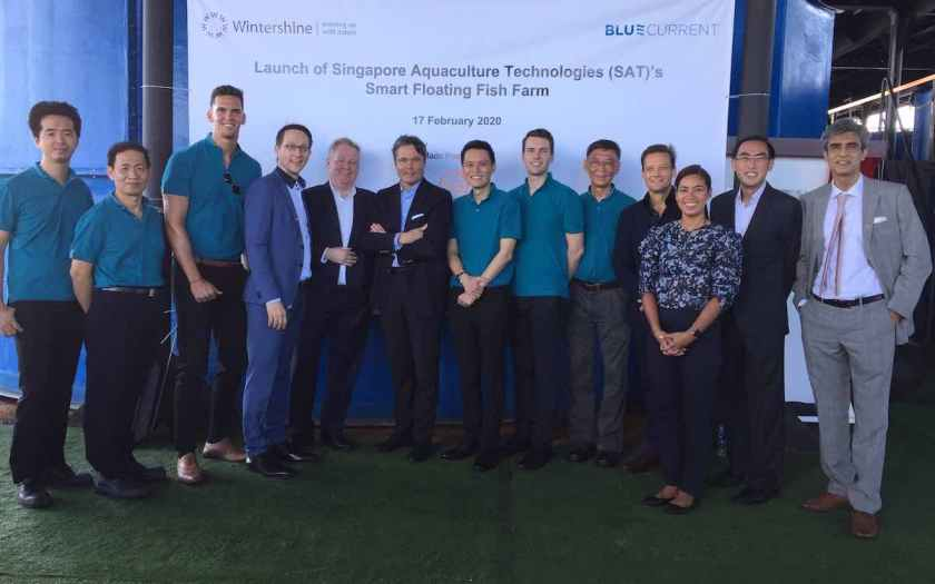 Singapore launches first smart floating fish farm, protected by Kaspersky