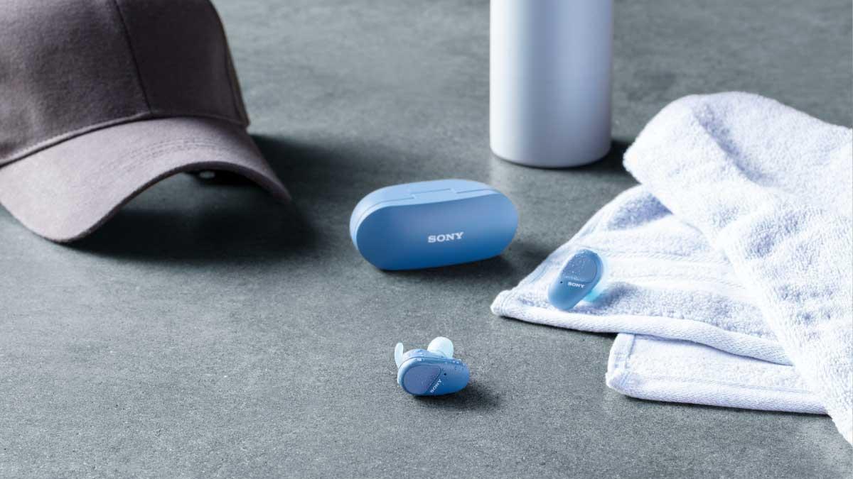 Sony's New Truly Wireless WF-SP800N Sport Headphones