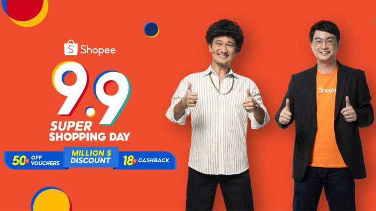 Shopee announces cultural icon Phua Chu Kang as its first Singaporean brand ambassador ahead of 9.9 Super Shopping Day