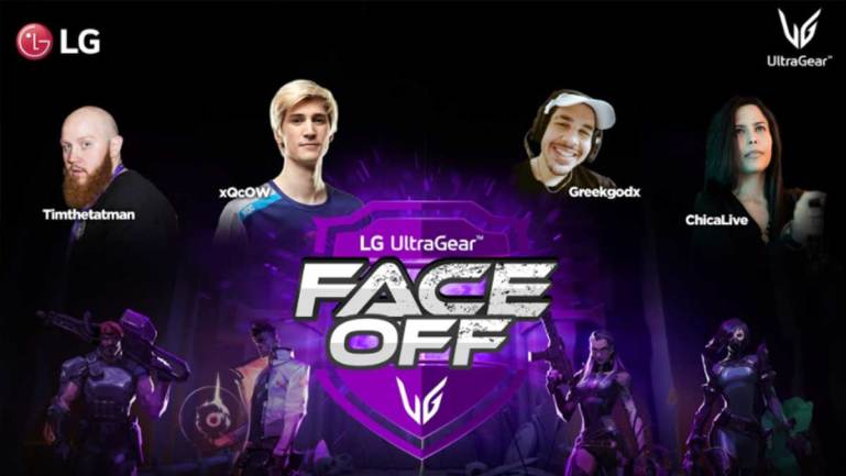 LG UltraGear™ FACE-OFF tournament to decide best Valorant Player