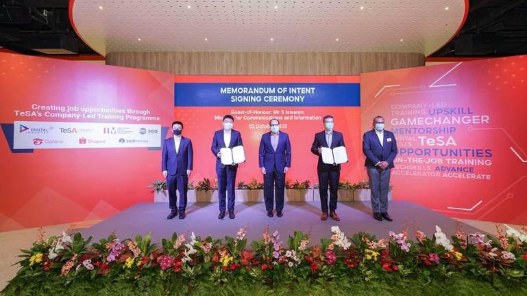Sea and IMDA Partner to Create 500 Tech Job Opportunities