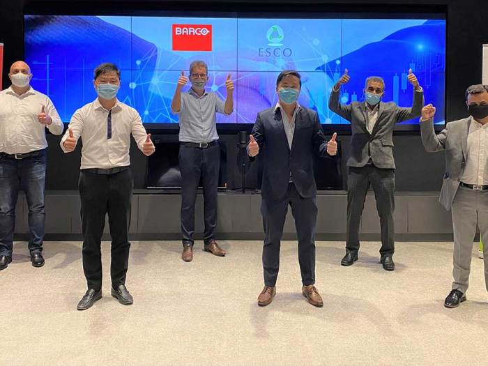 Barco Partners with ESCO to address the new normal workplace
