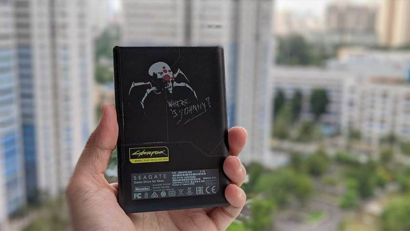 Review of the Seagate Game Drive for Xbox Cyberpunk 2077 Special Edition