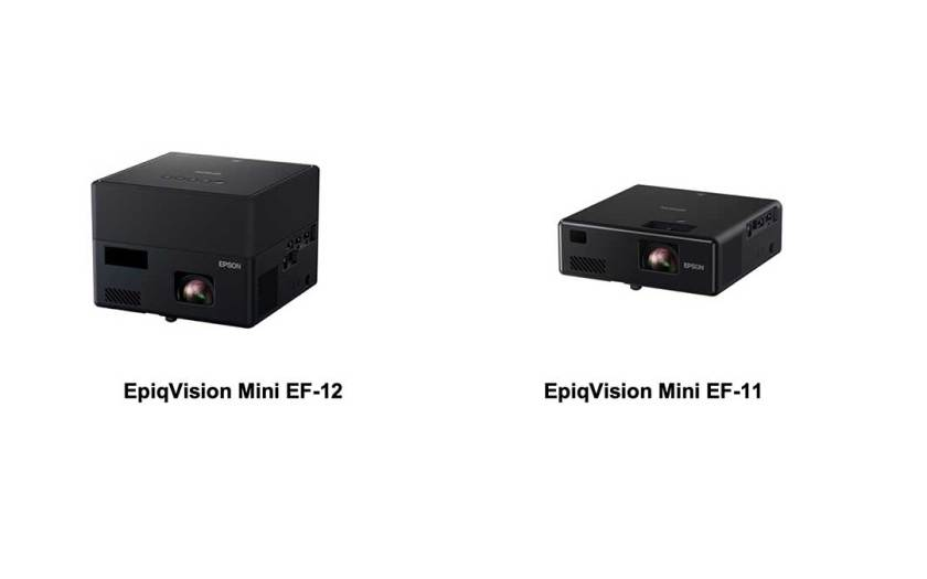 Epson launches new range of EpiqVision Mini Laser Projection TV