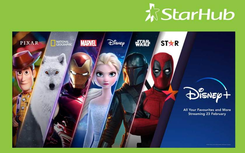 StarHub becomes official distributor of Disney+ in Singapore