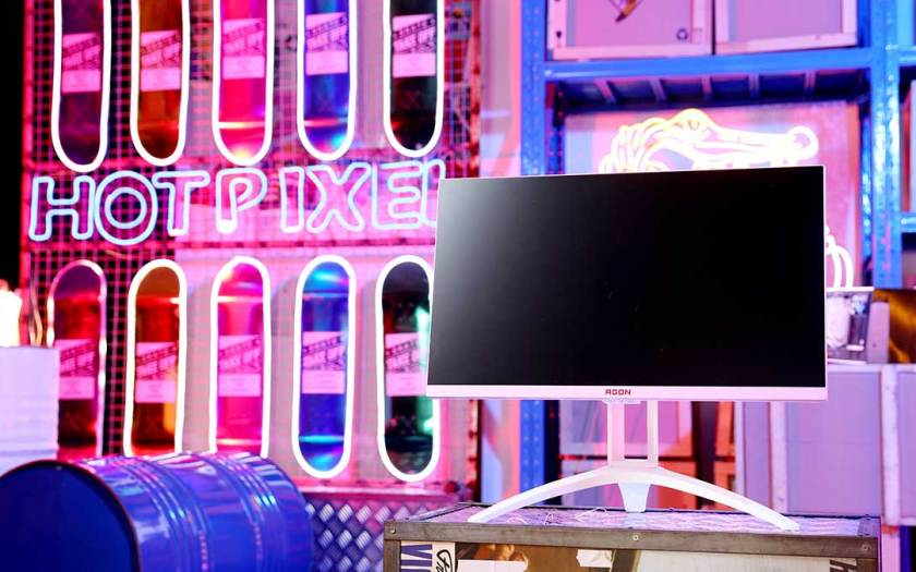 Powered by Pink: Keeping Valentine's Day Promises with the AOC AG273FXR Agon monitor