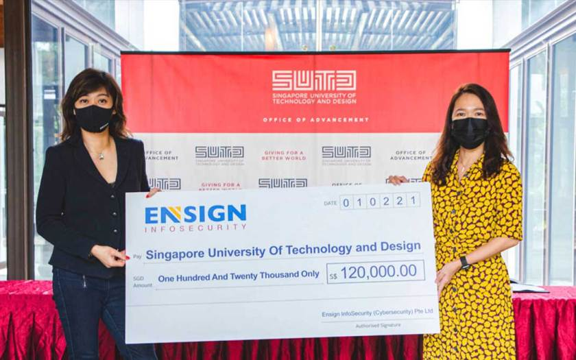 SUTD Partners Ensign InfoSecurity to Develop More Local Cybersecurity Talents