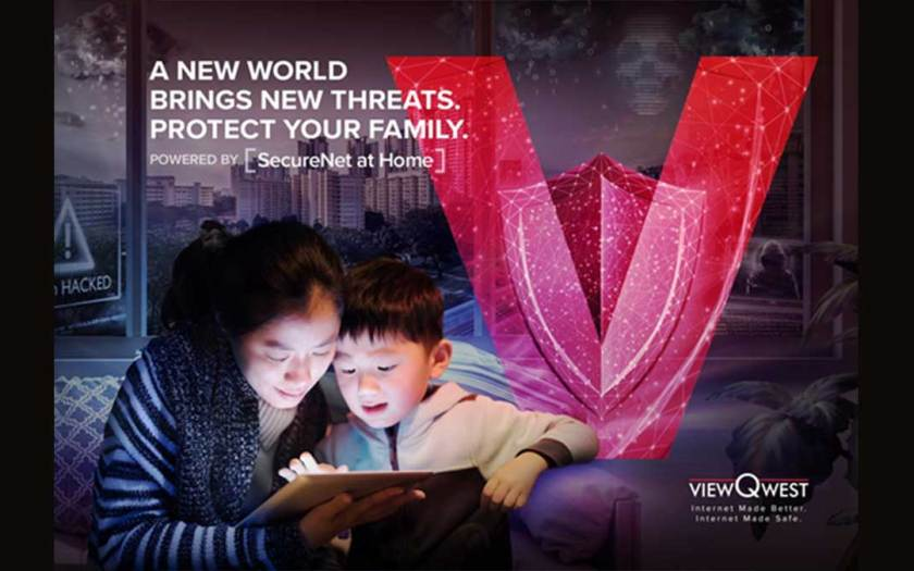 ViewQwest launches Southeast Asia's first consumer broadband which automatically blocks cybersecurity threats