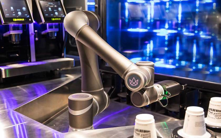 LG's transparent OLED collaborates with Ella, robotic barista to deliver interactive, immersive customer experience