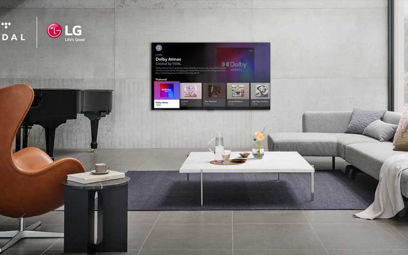 LG TV users in for a superior music experience with the arrival of TIDAL