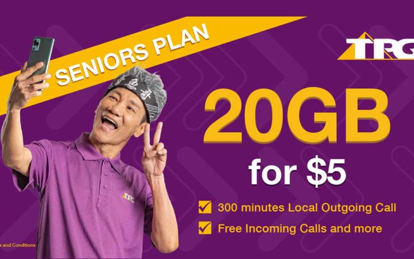 TPG extends its $5 for 20GB Seniors Plan to November 2024