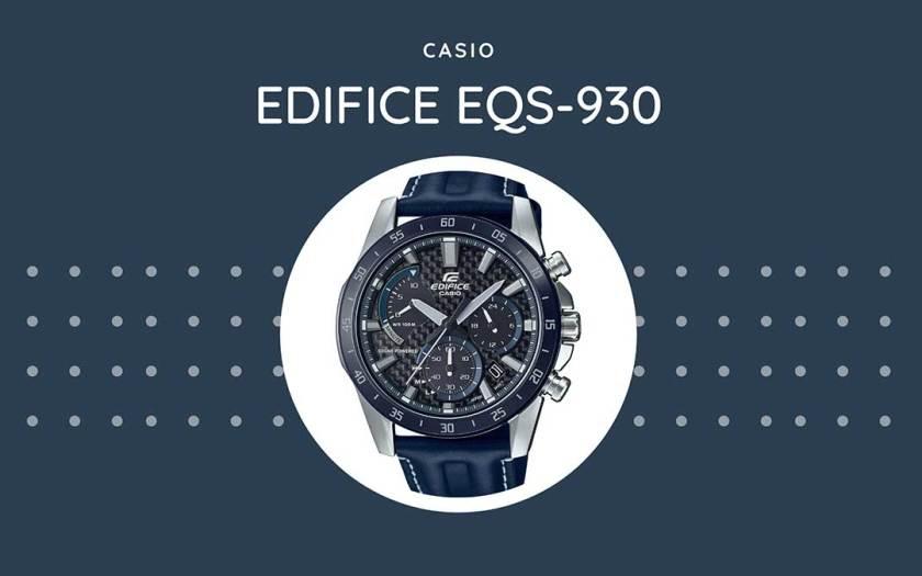 CASIO Announces New EDIFICE Solar-Powered Chronograph With A Carbon Fiber Dial