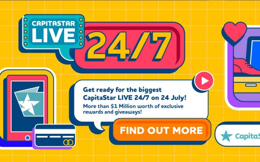 Shopping treats galore at CapitaStar's biggest annual shoppertainment event, CapitaStar LIVE 24/7