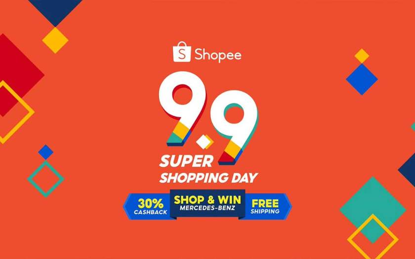 Shopee launches the most exciting year end season starting with 9.9 Super Shopping Day