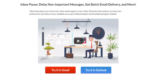Email tools like Inbox Pause