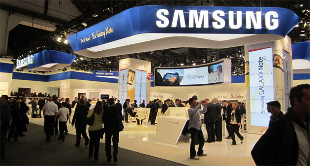 Samsung MWC booth