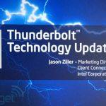 Η Intel Ανακοίνωσε Την Επόμενη Γενιά Του Thunderbolt