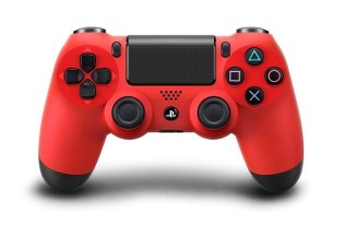 PS4 Controller in Magma Red