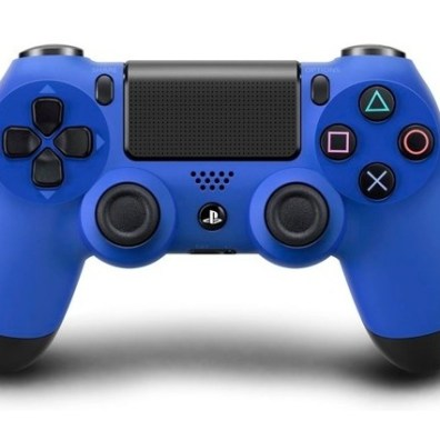 PS4 Controller in Wave Blue