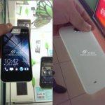 Ακυκλοφόρητο HTC Android Smartphone Ποζάρει Στη Κάμερα