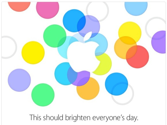 Apple Event Sept 2013