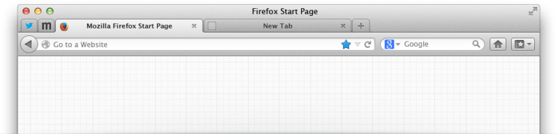 Firefox 24 Browser on Mac