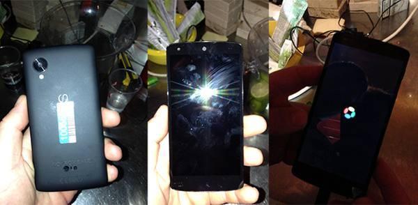 LG Nexus 5 leak