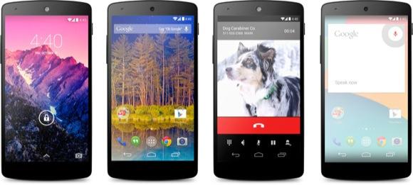 Nexus 5 awaits Android 4.4.3