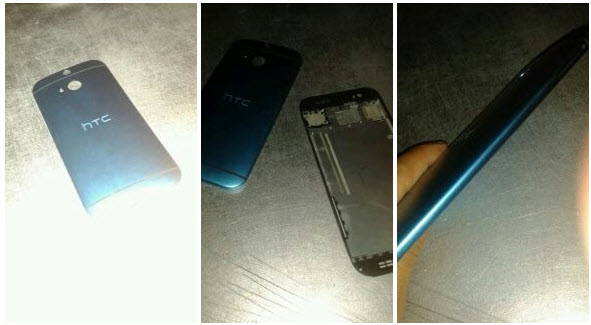 HTC One M8 Back Cover leak