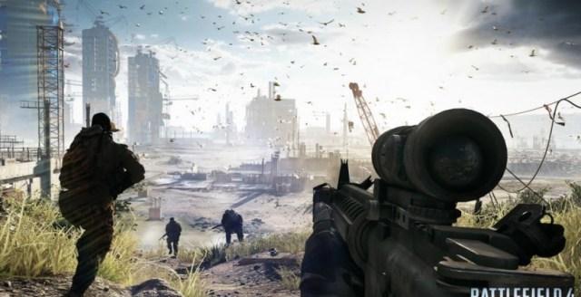 Στιγμιότυπο από το Battlefield 4