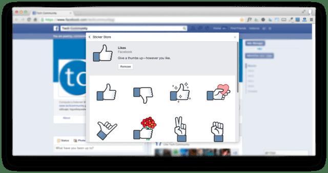 Facebook Likes - Dislike