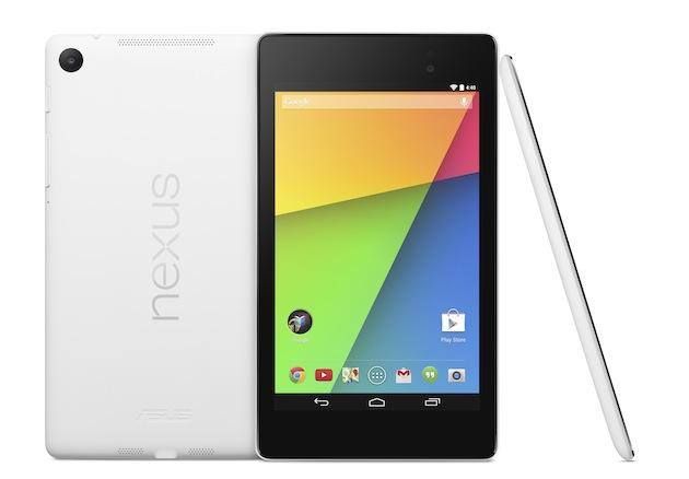 White Nexus 7 2013