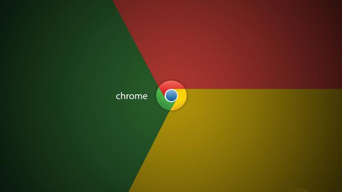 Google Chrome logo flag