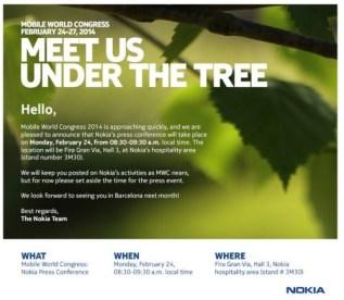 Nokia MWC 2014 Event