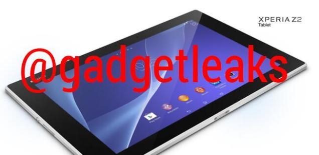 Sony XPERIA Z2 Tablet leak (2)
