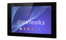 Sony XPERIA Z2 Tablet leak