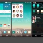 Screenshots Από Το LG G3 Επαληθεύουν Επίπεδο Σχεδιασμό, 2K Οθόνη