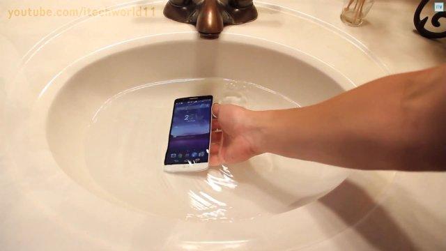 LG G3 water resist