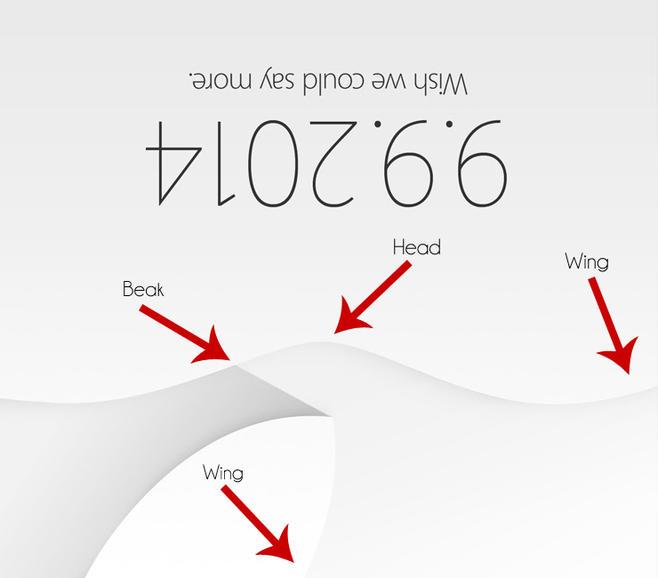 Apple September 2014 Invite The Bird