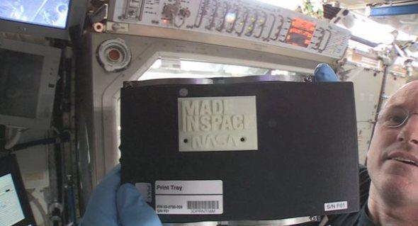 NASA 3D Printed Object