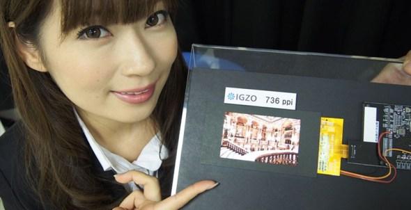 Sharp 4k IGZO Display