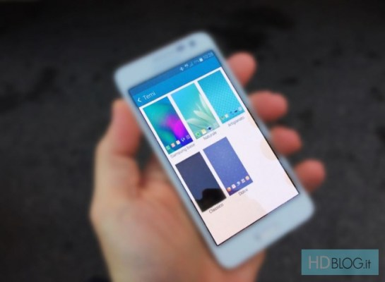 Samsung TouchWiz Themes leak