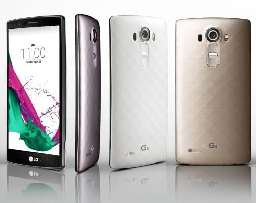 Το κλασικό LG G4 με πλαστικό καπάκι.