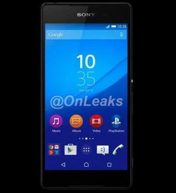 Sony Xperia Z4 render leaked