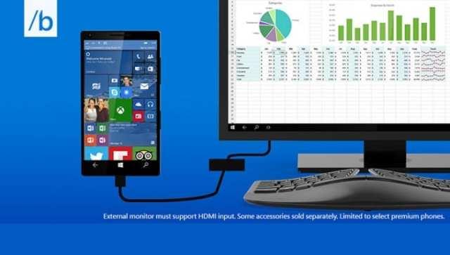 Microsoft Continuum for Phones