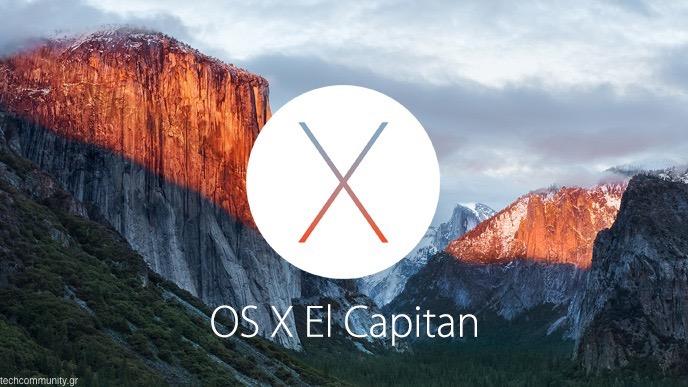 Apple Mac OS X El Capitan v10.11.2
