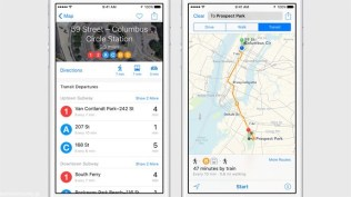 Apple iOS 9 Maps Transit