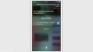 Apple iOS 9 Siri Reminder